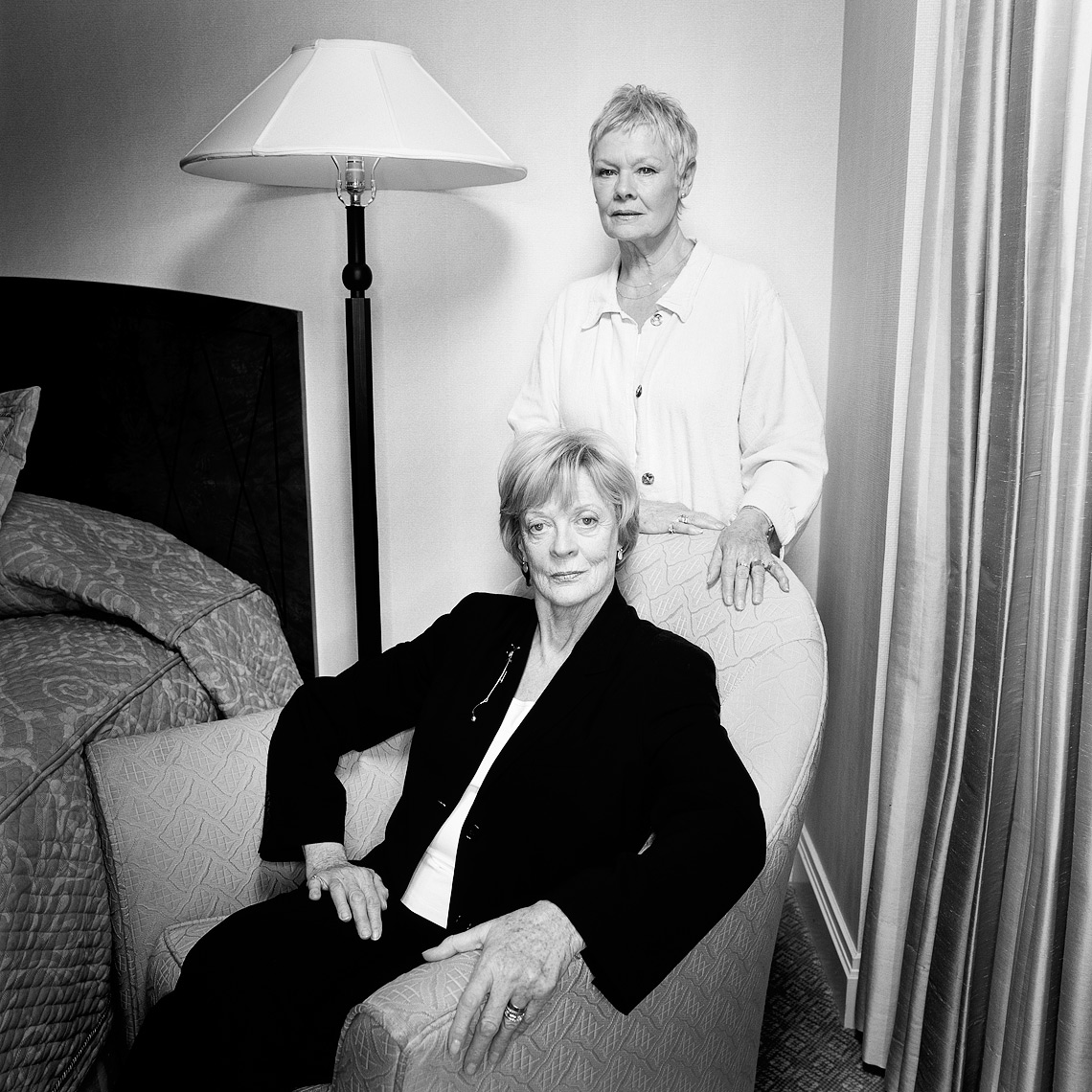 maggie smith & judi dench
